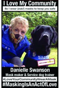 Danielle Swanson - Covid Action Cowichan Team Member - #MaskingIsAnActOfLove