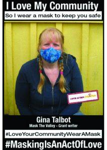 Gina Talbot - Covid Action Cowichan Grant Writer - #MaskingIsAnActOfLove