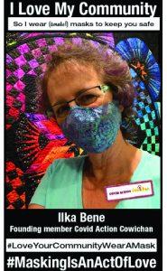 Ilka Bene - Covid Action Cowichan Leadership Team - #MaskingIsAnActOfLove