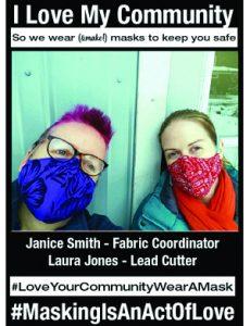 Janice Smith & Laura Jones Covid Action Cowichan Team - #MaskingIsAnActOfLove