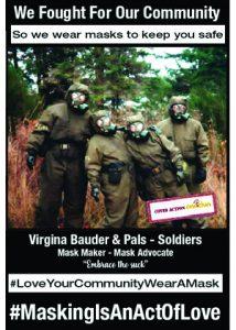 Virginia Bauder #MaskingIsAnActOfLove